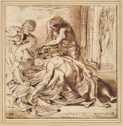 410x421 Rubens' Samson And Delilah To Lead Old Masters Drawings In $16.6m