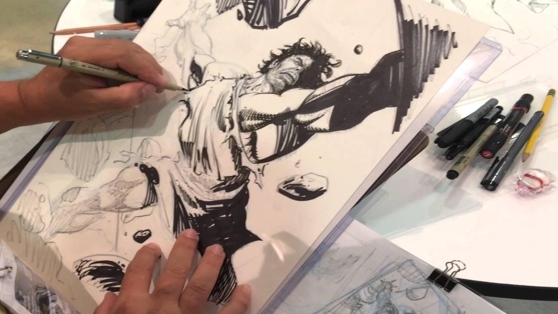1920x1080 Sergio Cariello Drawing Samson