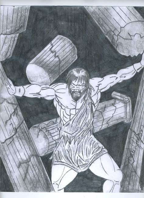 473x650 Stunning Samson Drawings And Illustrations For Sale On Fine Art