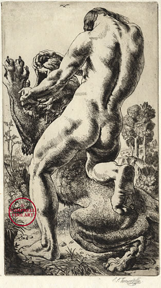 313x560 And The Lion By Charles Frederick Tunnicliffe