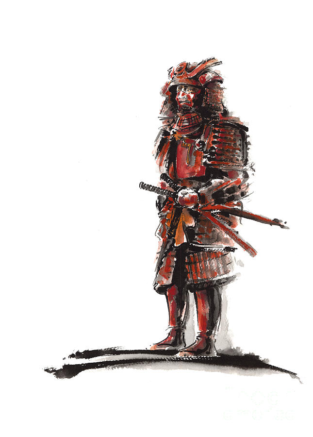 samurai armor drawing at getdrawings com free for personal use