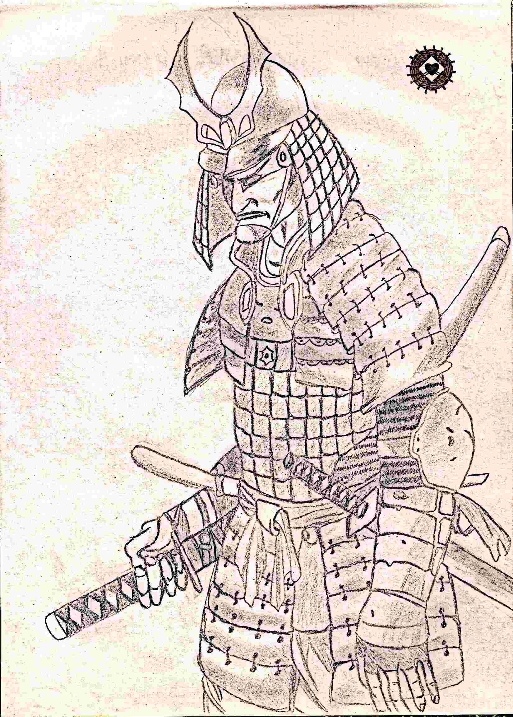 1650x2305 Samurai Were A Traditional Warrior Class In Pre Industrial Japan