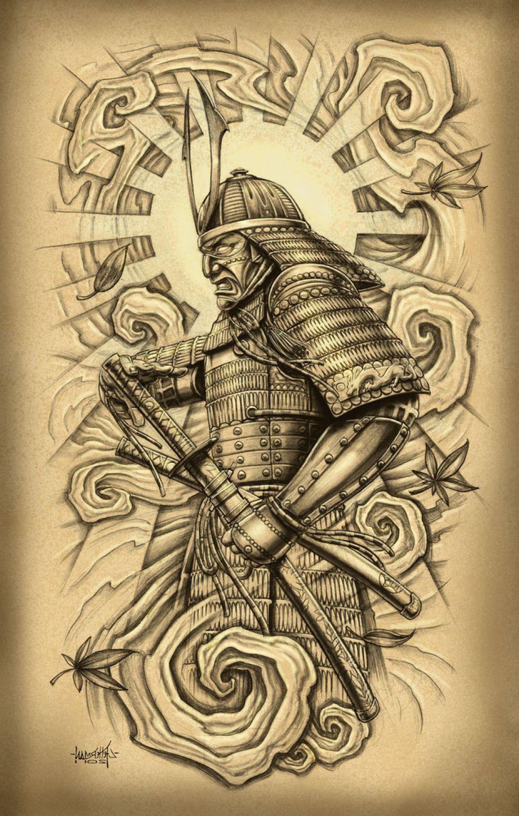 Samurai Drawing Tattoo At Getdrawings