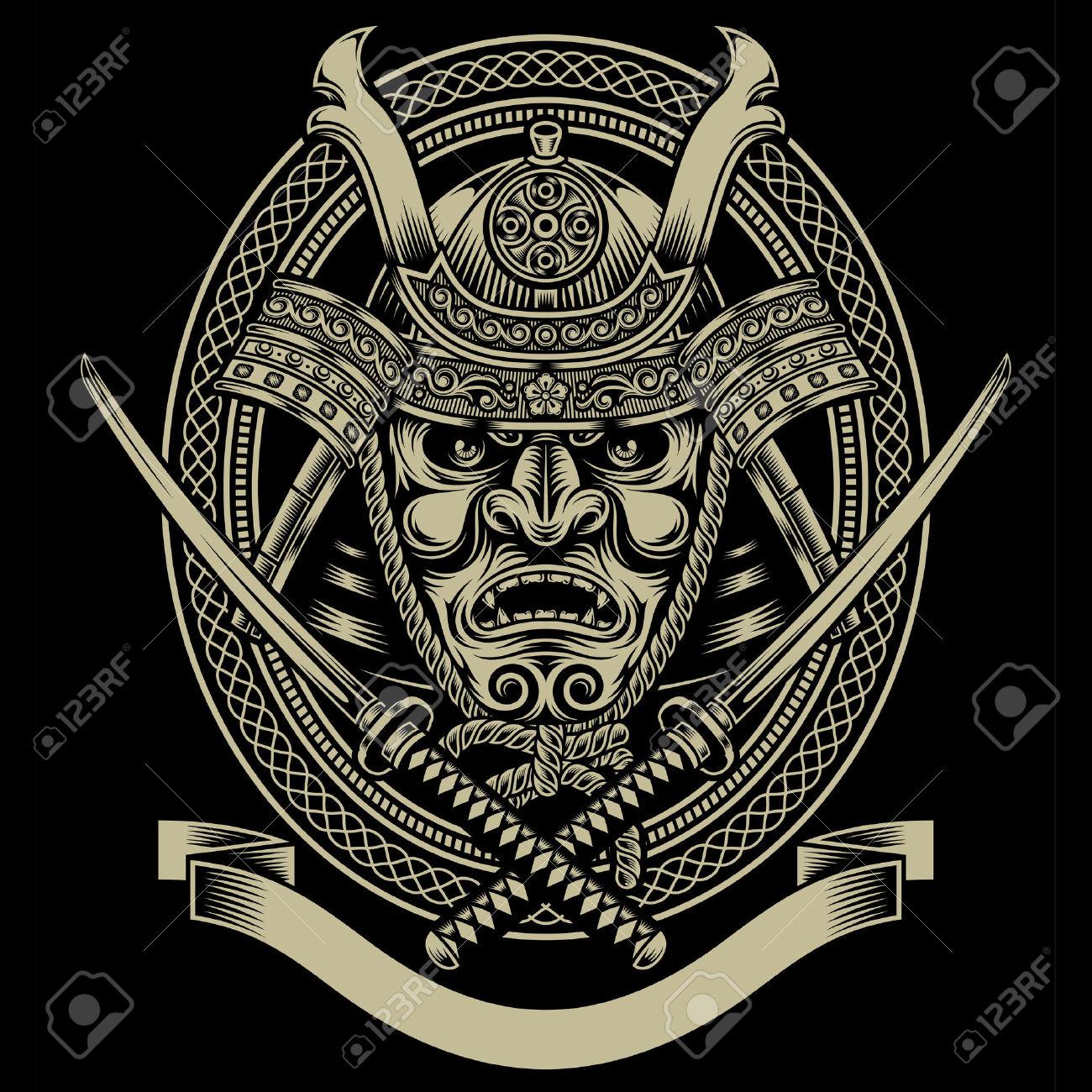 1300x1300 Escudo Samurai Tatoos Samurai, Masking And Google