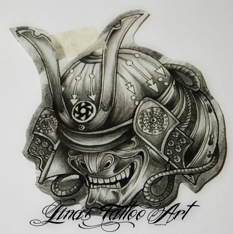 samurai tattoo drawing at getdrawings com free for personal use rh getdrawings com traditional japanese samurai mask tattoo meaning samurai skull mask tattoo meaning