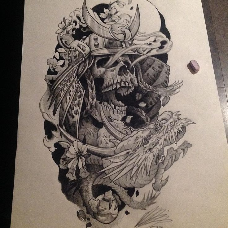 Samurai Tattoo Drawing At Getdrawings