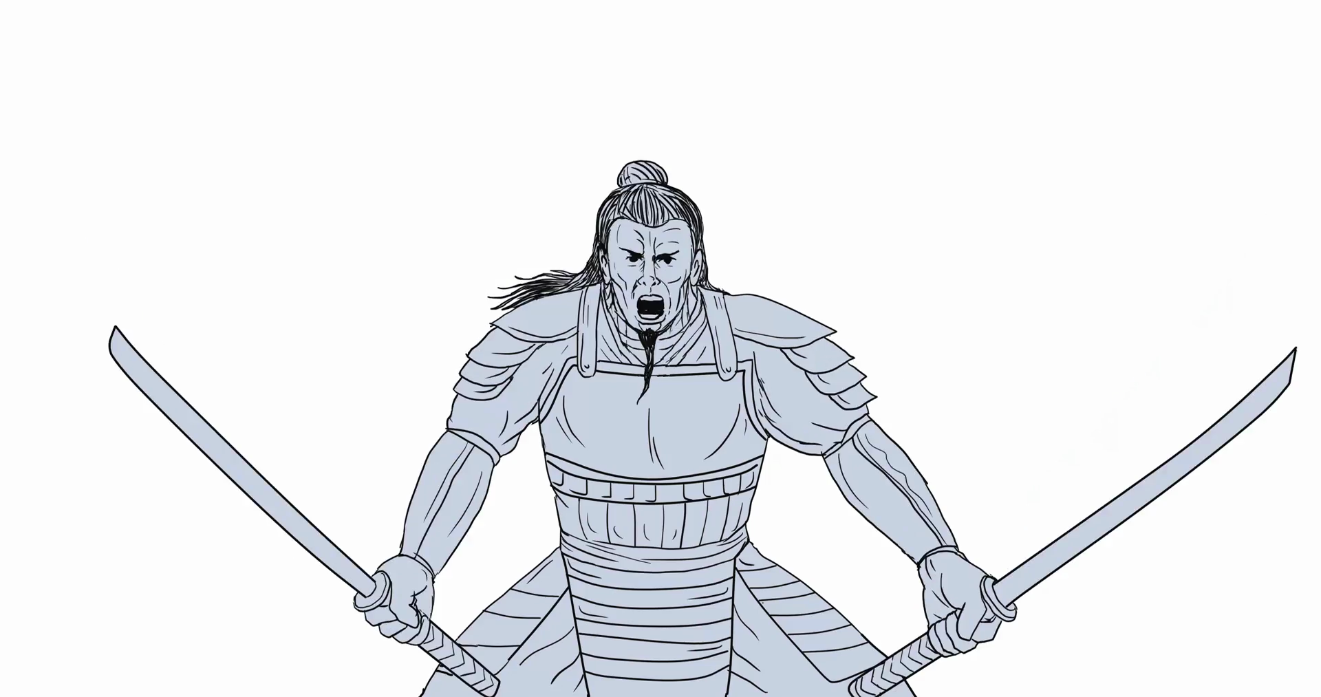 Samurai Warrior Drawing at GetDrawings.com | Free for personal use ...