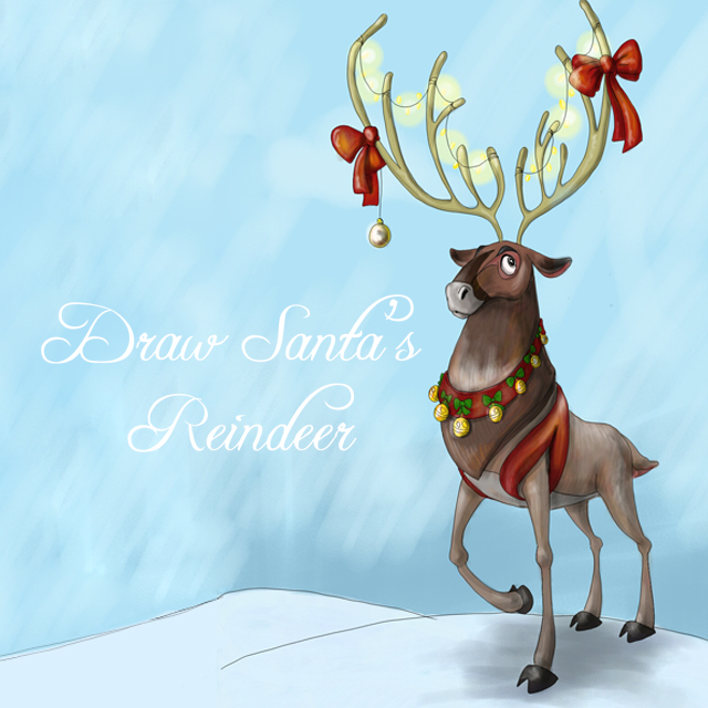 640x640 Draw Santa's Reindeer For This Week's Drawing Challenge