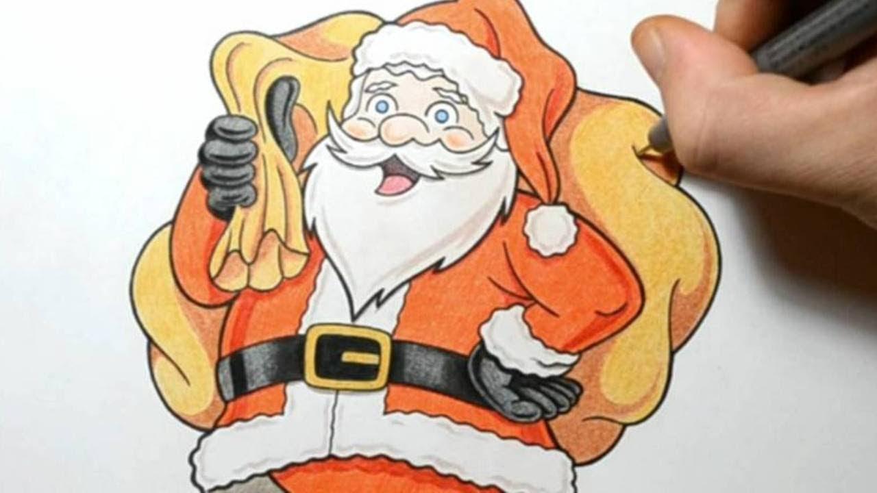 1280x720 How I Draw Santa Claus