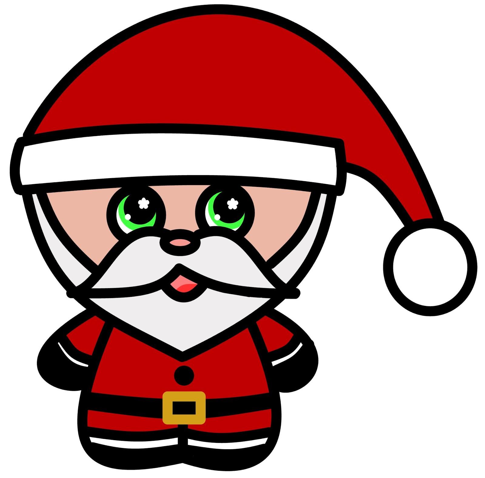 1600x1578 How To Draw Cartoons Chibi Santa