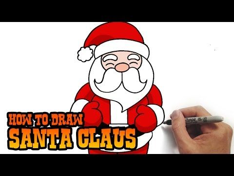 480x360 How To Draw Santa Claus Simple And Easy Lesson