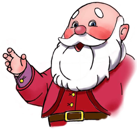 450x424 How To Draw Santa Clause In 10 Easy Steps Christmas Drawing