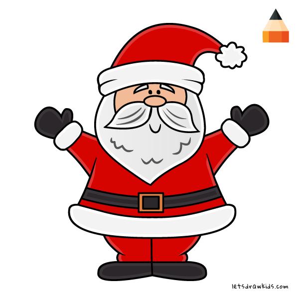 600x600 Christmas Drawing