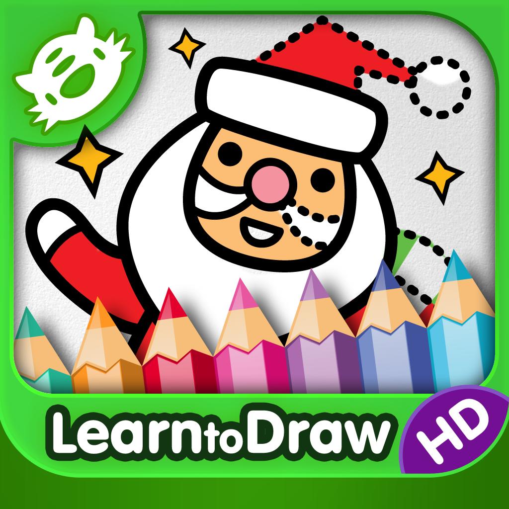 1024x1024 Kids Drawing Christmas
