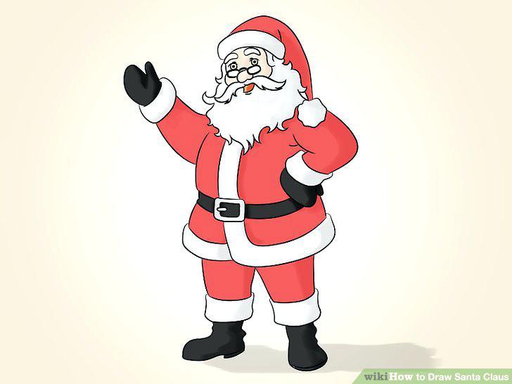 728x546 Santa Claus Drawing Affan