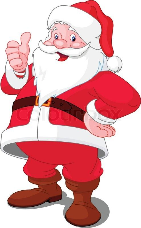 495x800 Santa Claus By On @ Christmas