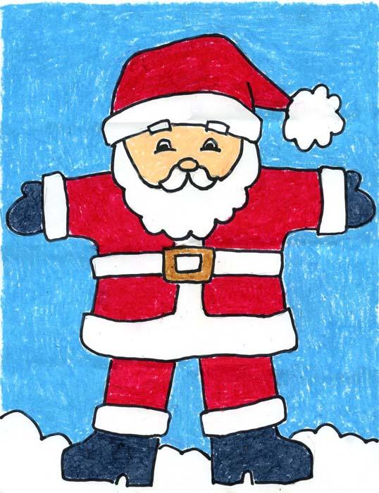 538x700 Santa Claus