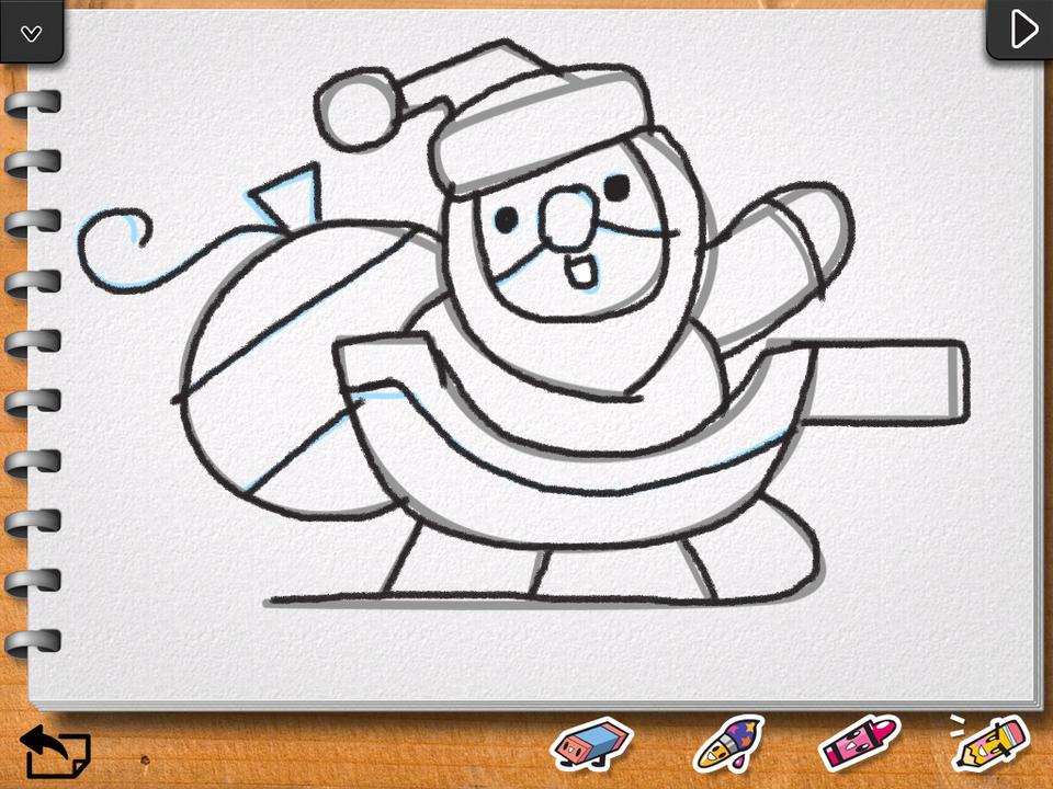 960x720 Kids Drawing Christmas