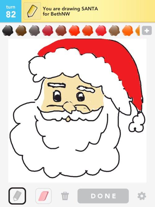 500x667 Santa Drawings