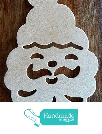 342x450 Beautiful Hand Crafted Mdf Christmas Santa Drawing Template