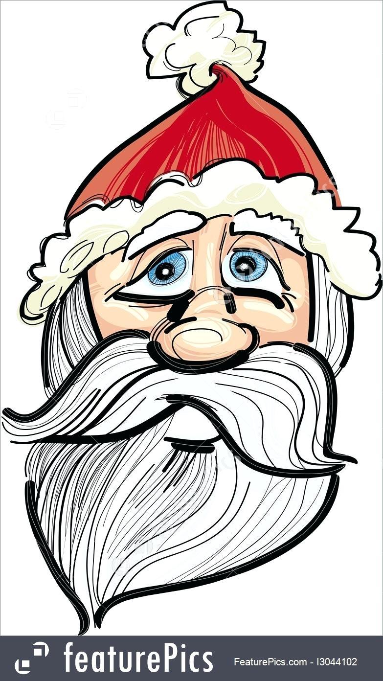 Santa Drawing Template at GetDrawings.com | Free for personal use ...