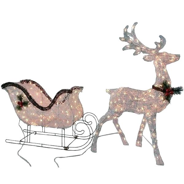600x600 Santa And Sleigh And Sleigh Delivering Presents To Children