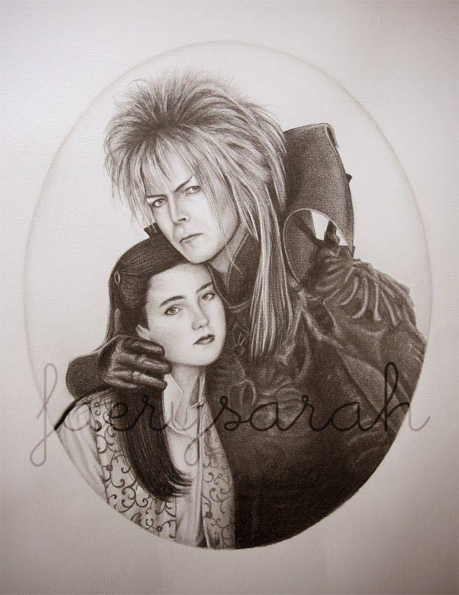 660x856 Faerysarah Latest Drawing ~ Jareth And Sarah From Labyrinth