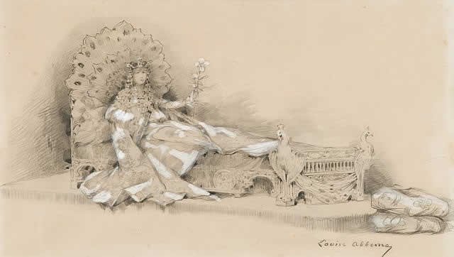 640x362 Rene Lalique Drawings Sarah Bernhardt