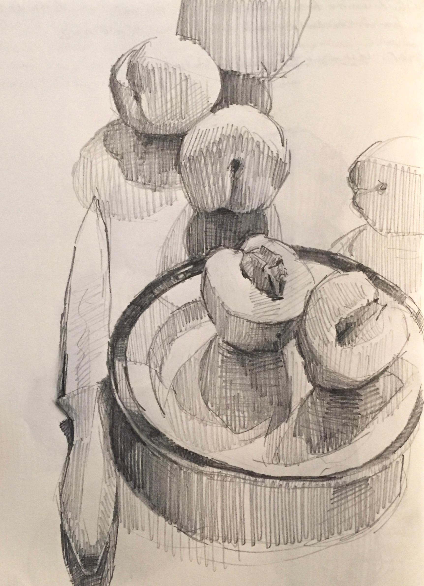 1724x2383 Sketchbook Page By Sarah Sedwick. 5.22.16.