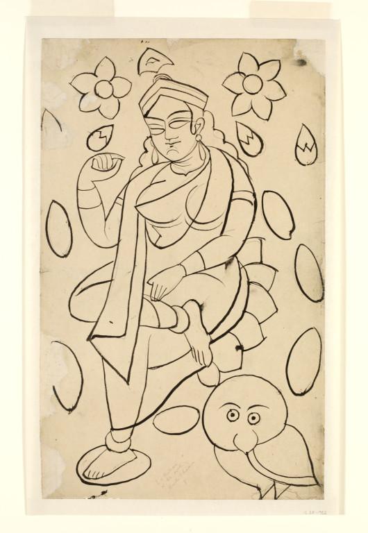 530x768 Saraswati Ghosh, Kali Charan Vampa Search The Collections