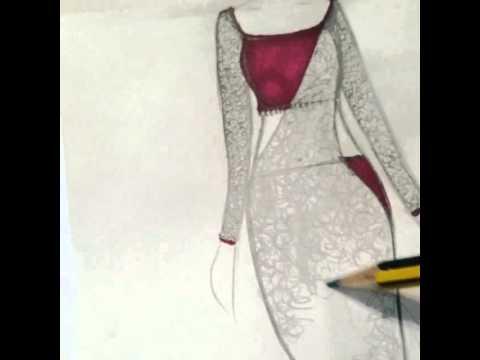 480x360 Drawing A Sari