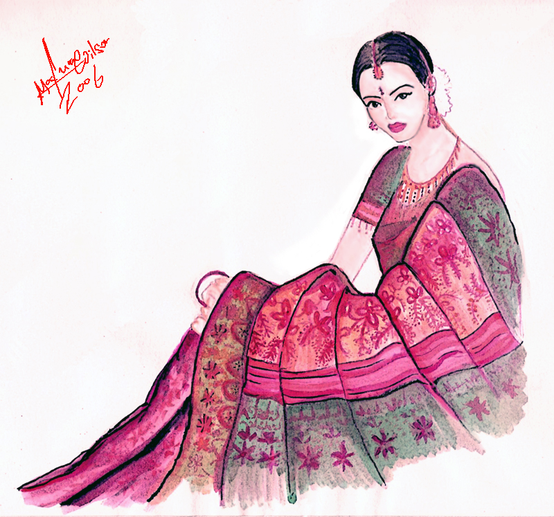 800x747 Sarees Fashion In India And Bangladesh The Style Scrapbook
