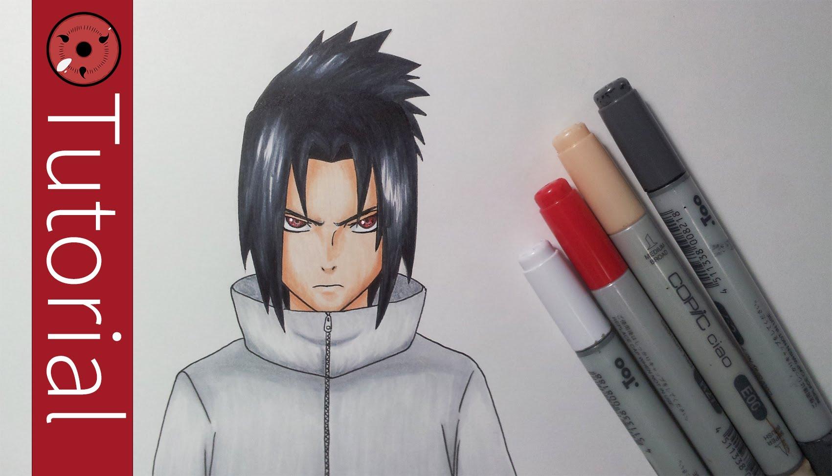 1701x974 How To Draw Sasuke Uchiha