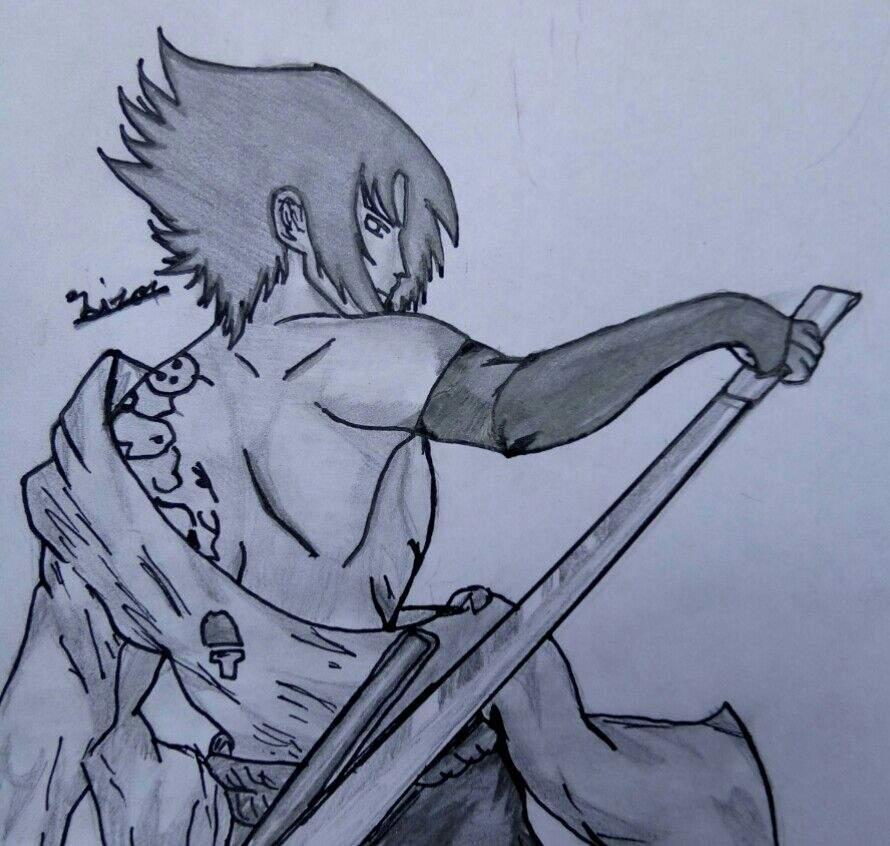 890x846 New Art Of Sasuke Uchiha Naruto Amino
