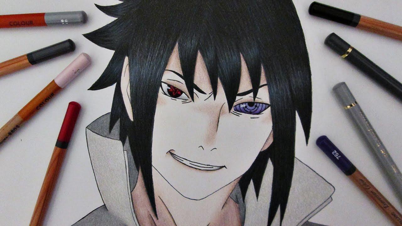 1280x720 Speed Drawing Sasuke Uchiha Naruto Shippuuden