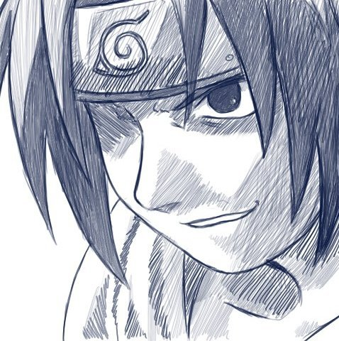 478x480 Haha! Here's A Drawing Of Sasuke Fresh From My Sketch Pad Someone
