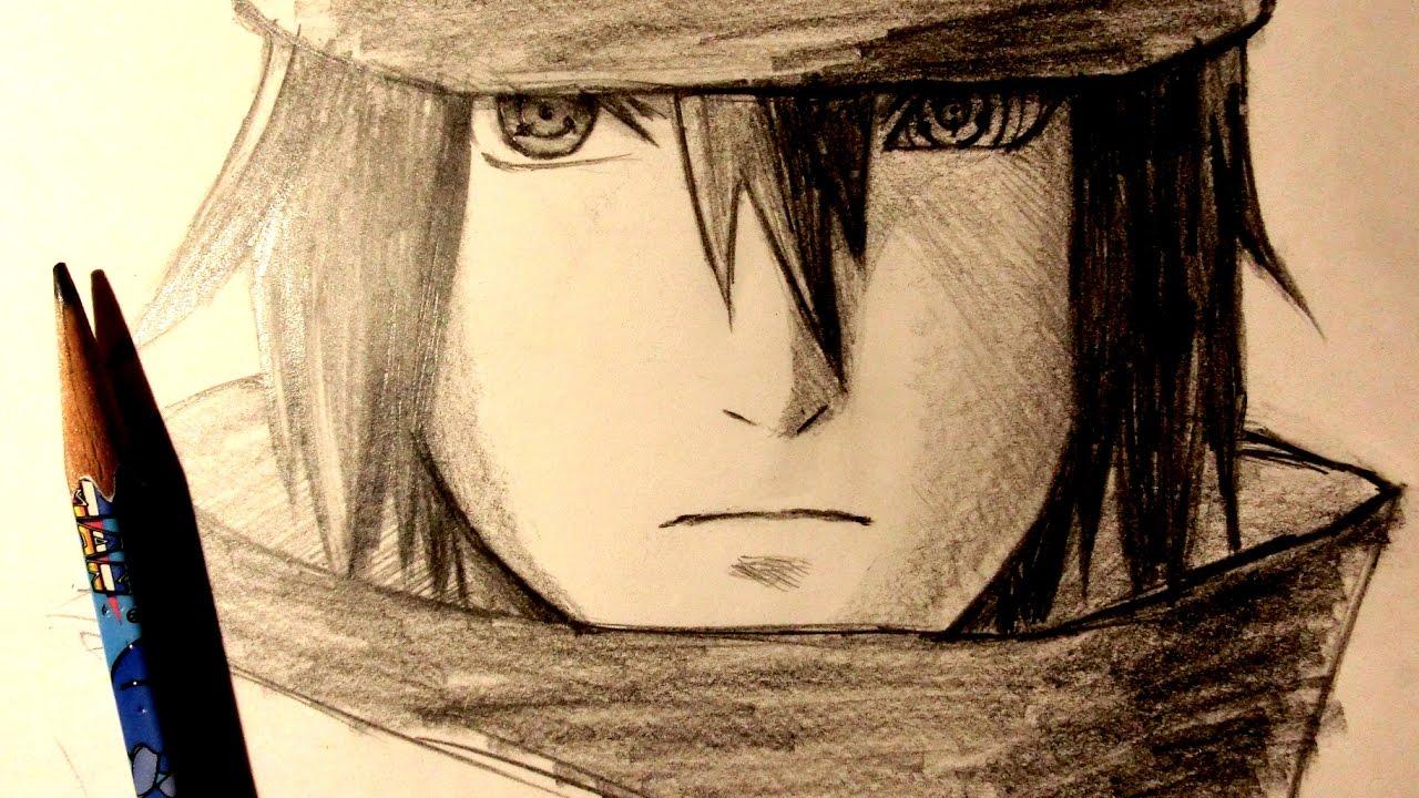 1280x720 Asmr Pencil Drawing 63 Sasuke Uchiha The Last (Request