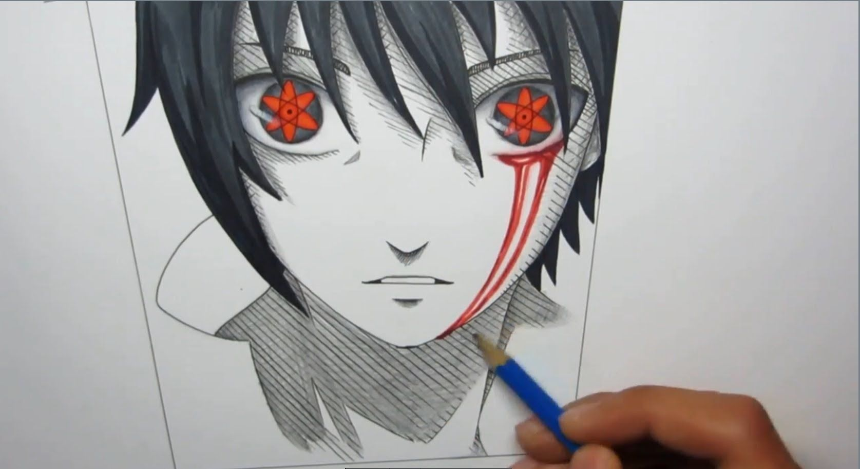 Sasuke Face Drawing At Getdrawingscom Free For Personal