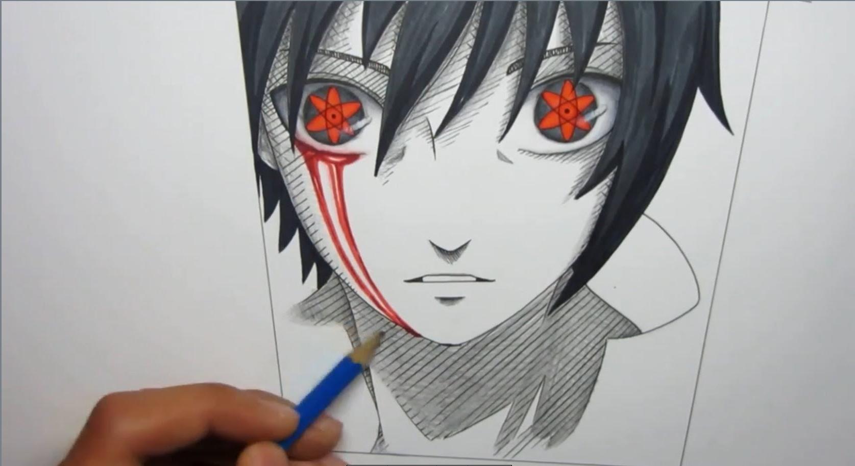 1675x913 Naruto Sasuke Drawing Face How To Draw Sasuke Mangekyou Sharingan