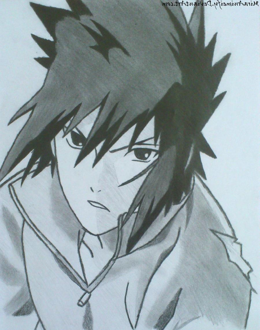 900x1140 Naruto Sasuke Drawing Face Sasuke Uchiha By Miraanimeify
