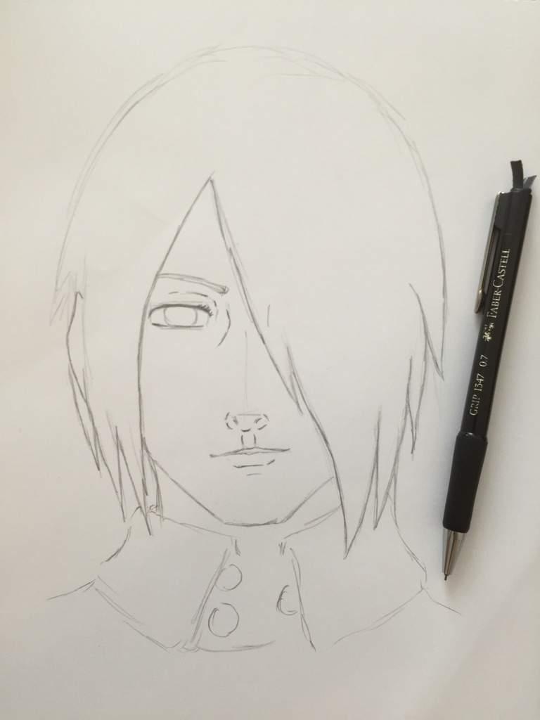 768x1024 Adult Sasuke Realistic Fanart Anime Amino