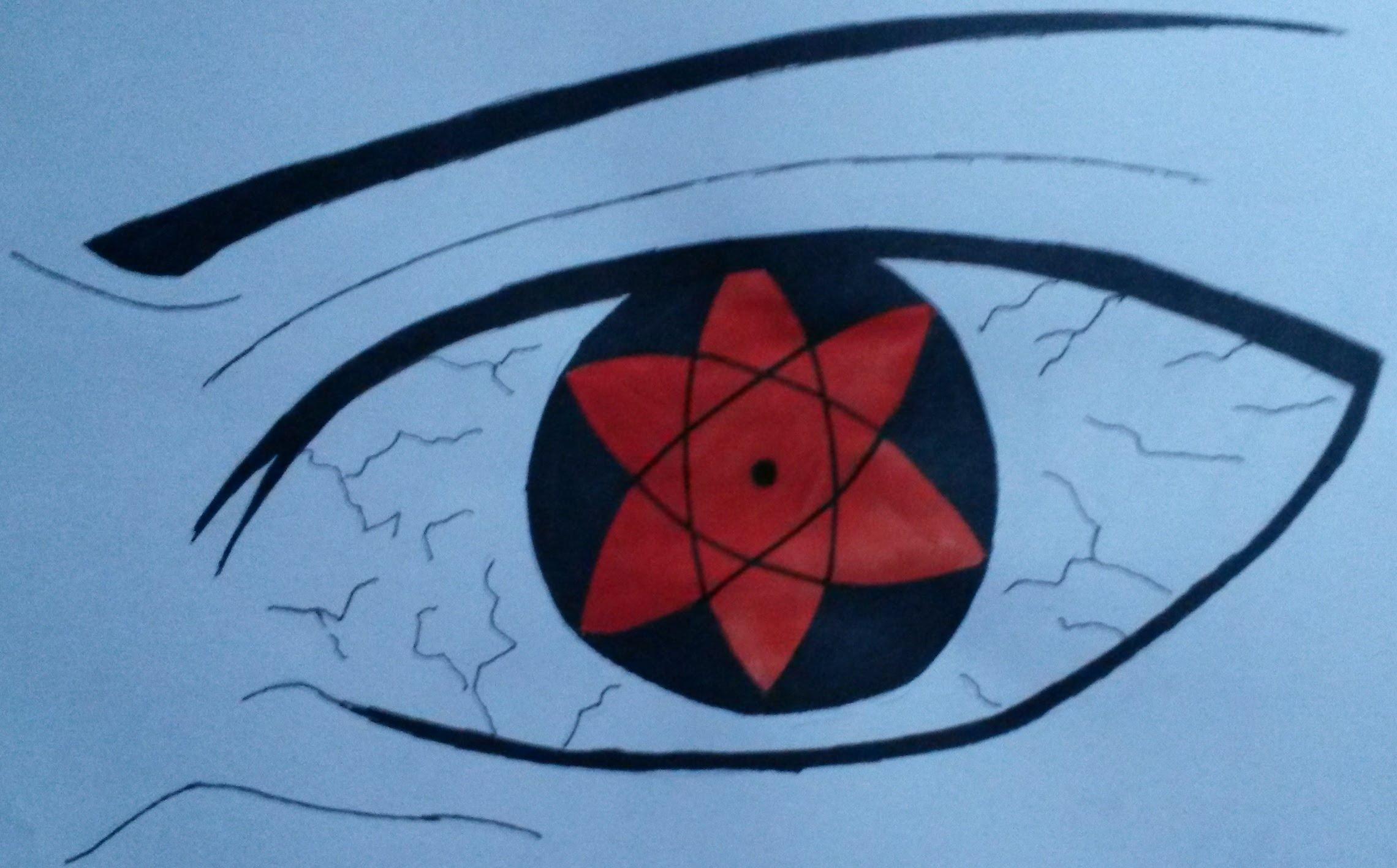 2280x1416 How To Draw Eyes Sasuke's Mangekyou Sharingan Color
