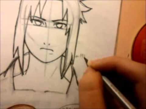 480x360 How I Draw Sasuke Uchiha Shippuden (Drawing Tutorial)