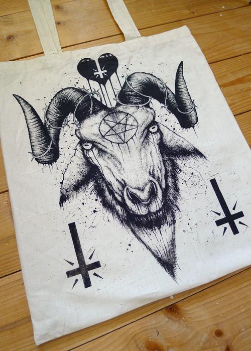 500x699 Satanic Goat Drawing Get Inked! Goats, Tattoo
