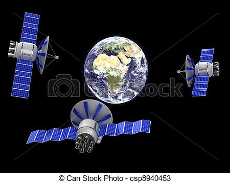 450x357 Artifical Satellite Earth. An Artificial Satellite To Orbit