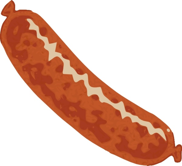 600x550 Sausage Clip Art Free Vector In Open Office Drawing Svg ( Svg