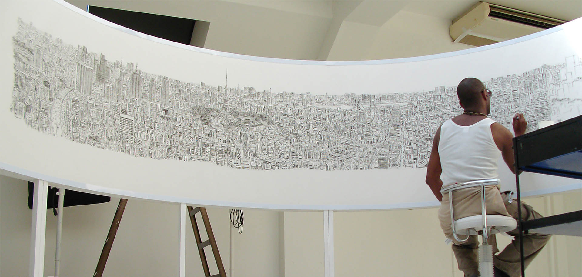 1920x914 Stephen Wiltshire's Tokyo Panorama Drawing