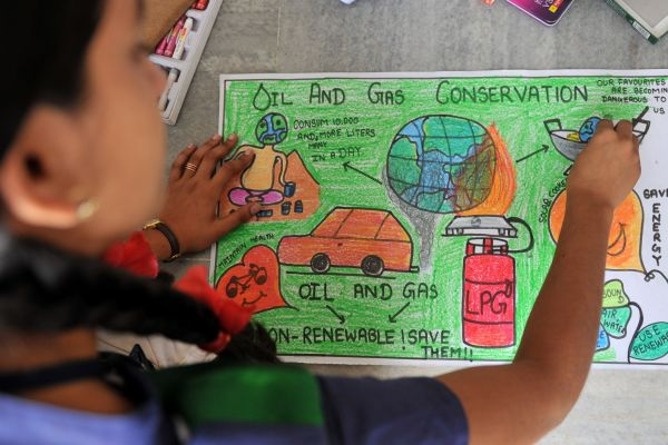 600x400 Save Fuel Drawing Contest In India