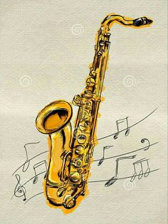 236x315 How Draw Saxophone Step By Step Drawing Tutorials How