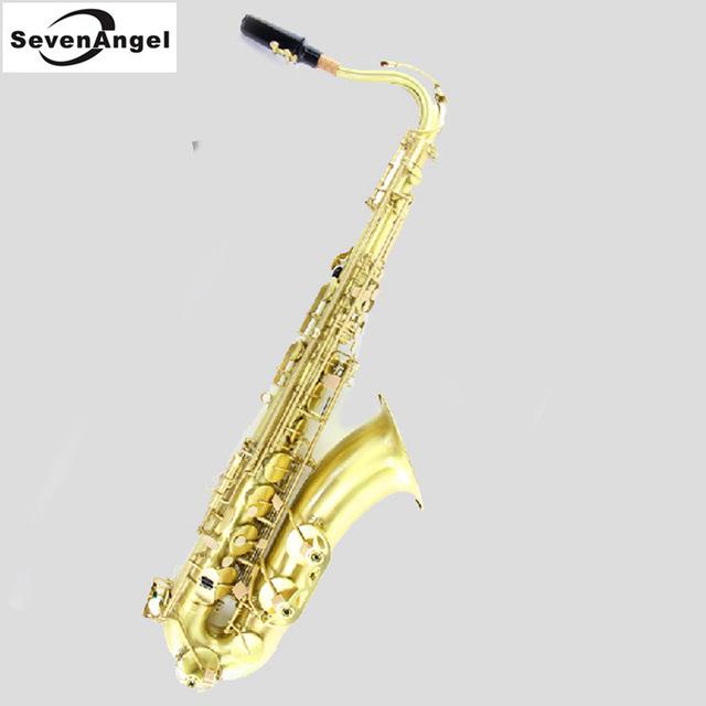 640x640 Tenor Bb Green Wire Drawing Sax Wind Instrument Saxophone Western